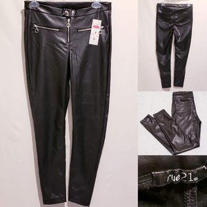 Rue21 Pants - 🆕Rue 21 Faux leather pants size S🐝💋